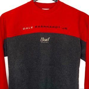 Nascar Dale Earnhardt Fleece Sweatshirt Bud Racing
